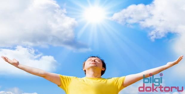 güneşli iyi hava ve insan sağlığına etkileri