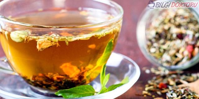 Basen eriten özel çay