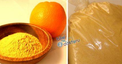 Portakal Kabuğu Tozu Faydaları ve Kullanım Alanları